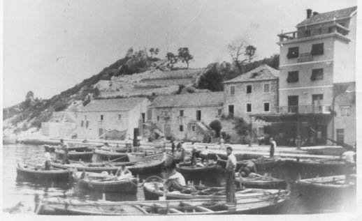 Old photo of Trpanj
